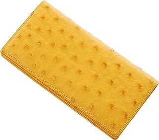 株式会社 三京商会(Sankyo Shokai) 二つ折り 財布 メンズ 長財布 日本製 無双 一枚革 オーストリッチ