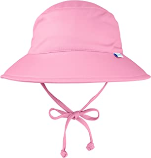 i play. by green sprouts Kids' Baby Girls i Play. Breatheasy Bucket Sun Protection Hat, Light Pink, 0/6mo