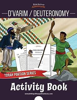 D'varim / Deuteronomy Activity Book: Torah Portions for Kids (Torah Portion Activity Books)