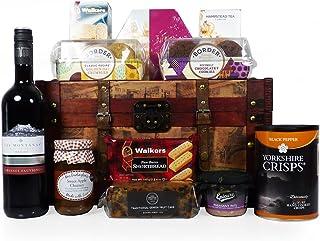 Caja de regalo de estilo vintage delicatessen - El regalo de cumpleaños ideal, jubilación, boda, compromiso, gracias, día de la madre, día del padre
