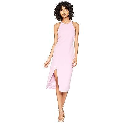 Bardot Cara Asymmetrical Dress (Marsh Pink) Women