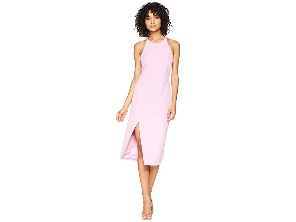 Bardot Cara Asymmetrical Dress (Marsh Pink) Women