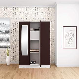 GODREJ INTERIO Slimline Steel Wardrobe Russet,3 Door