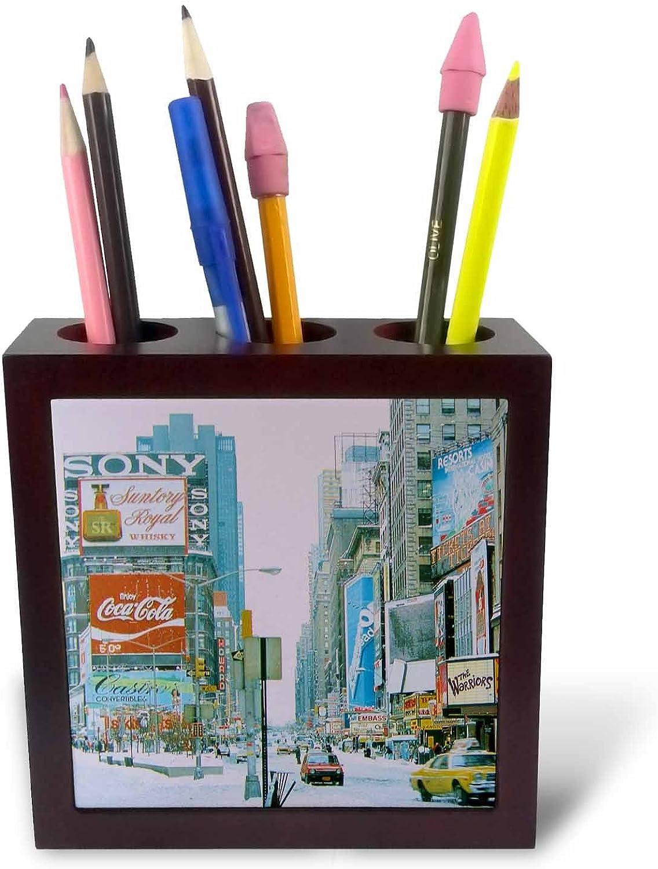 3dRosa PH 16861 _ 1 Vintage Mal Square-Tile Stifthalter, 12,7 cm B004WI6VLS | Elegantes und robustes Menü