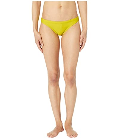 Nike Solid Bikini Bottoms (Bright Cactus) Women
