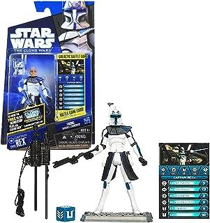 Star Wars The Clone Wars CW01 Captain Rex 3.75