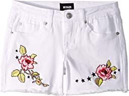 Eden Shorts in White (Big Kids)