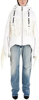 KHRISJOY Luxury Fashion Womens AFMW001NYFRWH03 White Down Jacket | Fall Winter 19