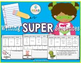 Writing Super Sentences