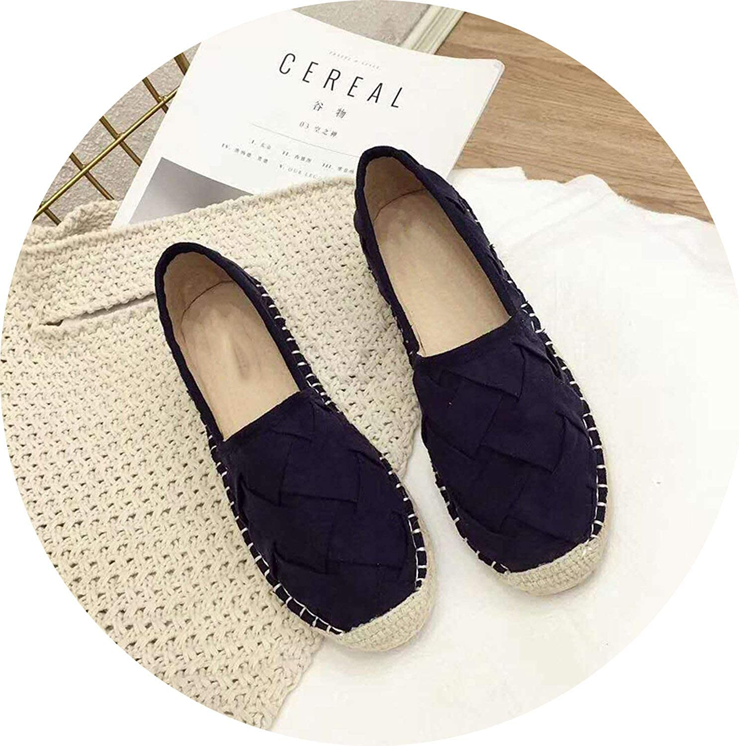 Get-in Mules Women Slippers Ladies Slides Female Espadrilles Women Creepers shoes Ladies Moccasins