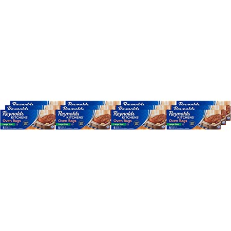 Reynolds Kitchens Oven Bags, Large, 5 Count , Pack of 12