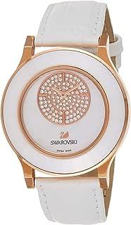 Swarovski Womens Analogue Quartz Watch with Leather Strap 5095482