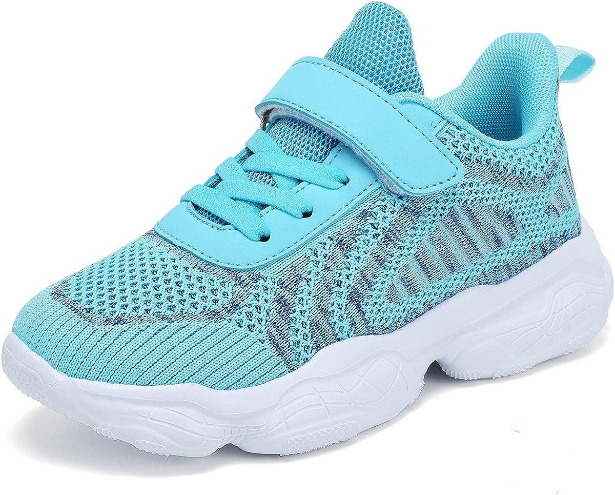 SOVIKER Kids Running Sneakers Tennis Shoes Lightweight BreathableAthletic Shoesfor Boys and Girls