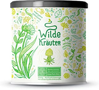 Wilde Kräuter | Nährstoffreiches Phyto-Elixier mit Heilkräutern, Adaptogenen, Algen,..