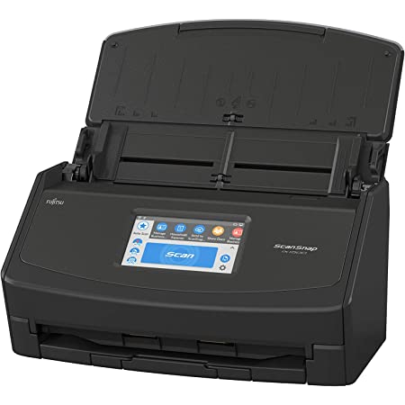 Fujitsu ScanSnap iX1500 Color Duplex Document Scanner with Touch Screen for Mac and PC (Black Model)