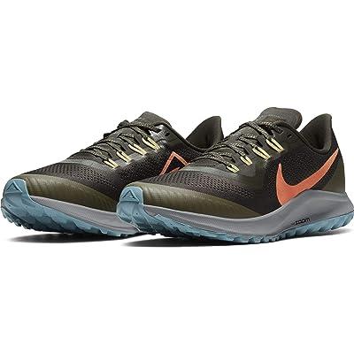 Nike Air Zoom Pegasus 36 Trail (Sequoia/Orange Trance/Medium Olive) Men