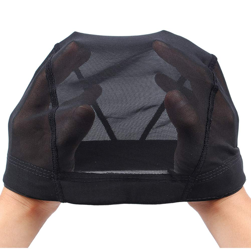Nunify Manufacturer regenerated product 2Pcs Max 53% OFF S Size Wig Cap Mesh Making Dome For Black