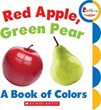 Red Apple, Green Pear: A Book of Colors (Rookie Toddler)