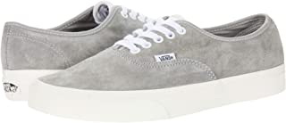[VANS(バンズ)] メンズスニーカー・靴 Authentic (Pig Suede) Drizzle/Snow White Men's 8.5, Women's 10 (26.5cm(レディース27cm)) Medium [並行輸入品]