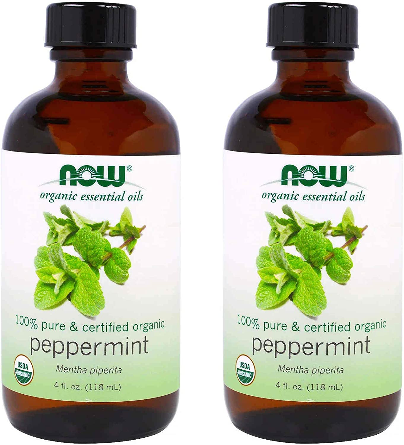 Now Peppermint Oil Certified Time sale Organic Price reduction - Mill 120 Fluid Ounces 4