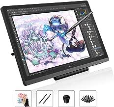 Tableta Gráfica HUION KAMVAS GT-191-19,5 Pulgadas Tableta Gráfica con Pantalla (Película Antideslumbrante), 1920 x 1080HD IPS, 72% NTSC, ángulo de visión de 178°, Huion GT-191 Incluye Soporte