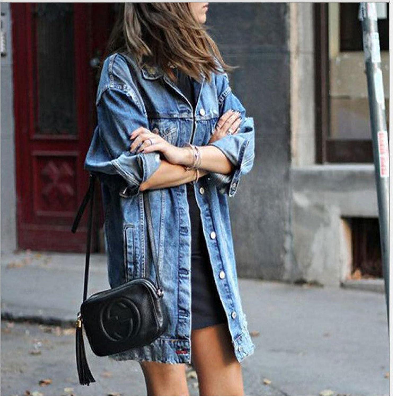 New Denim Jacket for Women's Autumn/Winter 2021 L Dark Blue