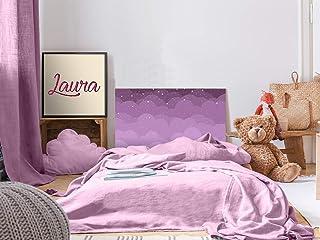 Cabecero Cama PVC Infantil Nube 150x60cm | Disponible en Varias Medidas | Cabecero Ligero, Elegante, Resistente y Económico
