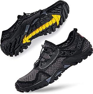 DimaiGlobal Zapatillas de Trekking para Hombres Verano Sandalias Deportivas Pescador Playa Zapatos Casuales Transpirable Z...