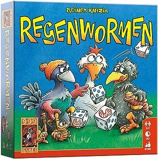 999 Games - Regenwormen Dobbelspel - Basisspel vanaf 8 jaar - Een van de beste spellen van 2006 - Reiner Knizia - Push you...