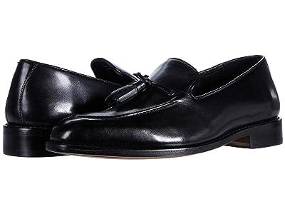 Anthony Veer Kennedy Tassel Loafer (Black) Men