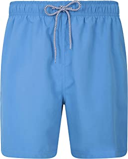 Mountain Warehouse Aruba Mens Swim Shorts - Fast Dry Swimming Trunks, Lightweight Board Shorts, Adjustable Draw Cord Beach...
