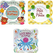3 Pack Shaped Board Books: I Can Do It Series