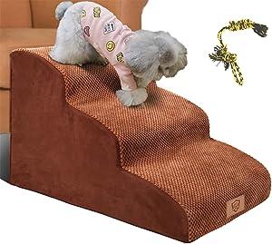 Topsmart 3 Tiers Foam Dog Steps