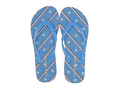 Jack Rogers Jr Flip-Flop (Marina Blue) Women