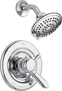 Delta Faucet Lahara 17 Series Dual-Function Shower Trim Kit with 5-Spray Touch-Clean..