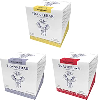 Trankebar Functional Herbal Tea Variety Pack (Kings Light, Wild Swans, and Nightingale 3 pack of 15 Tea Bags) Premium Specialty Tea Made With Quality Ingredients