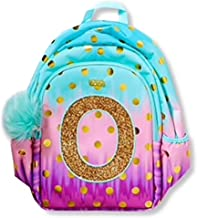 Justice Girls Ombre Foil Dot Initial