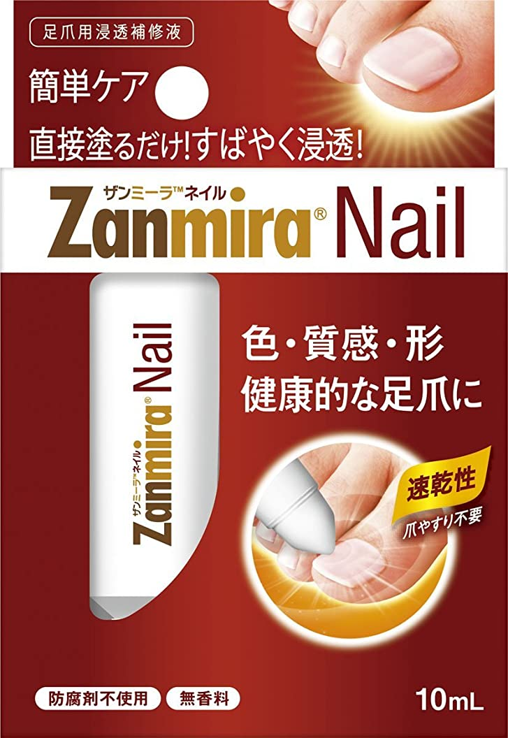 する必要がある誠実さ日付付きザンミーラ ネイル Zanmira Nail 10ml 足爪用浸透補修液