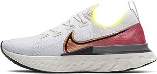 Nike React Infinity Run Flyknit Men's Running Shoe Platinum Tint/Black-Pink Blast Size 15