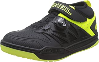 O'Neal Session SPD Pedal Fahrrad Schuhe Sneaker MTB BMX DH FR All Mountain Bike Downhill Sport,323, Farbe Gelb, Größe 46