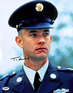 Tom Hanks Forrest Gump Signed 11x14 Photo Autographed #X44380 - PSA/DNA Certified