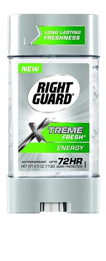スポンジボウリング表示Right Guard Xtreme Fresh Invisible Gel Antiperspirant & Deodorant Energy(並行輸入品)