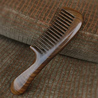 Wooden Comb for Women [Gift Box] - LilyComb No Static Sandalwood Wood Hair Comb with Handle for Curly and Straight Hair - Birthday Gift for Friend Family Member