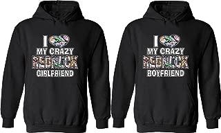 I Love My Crazy Redneck Girlfriend & Boyfriend -Matching Couple Shirts Love Tees