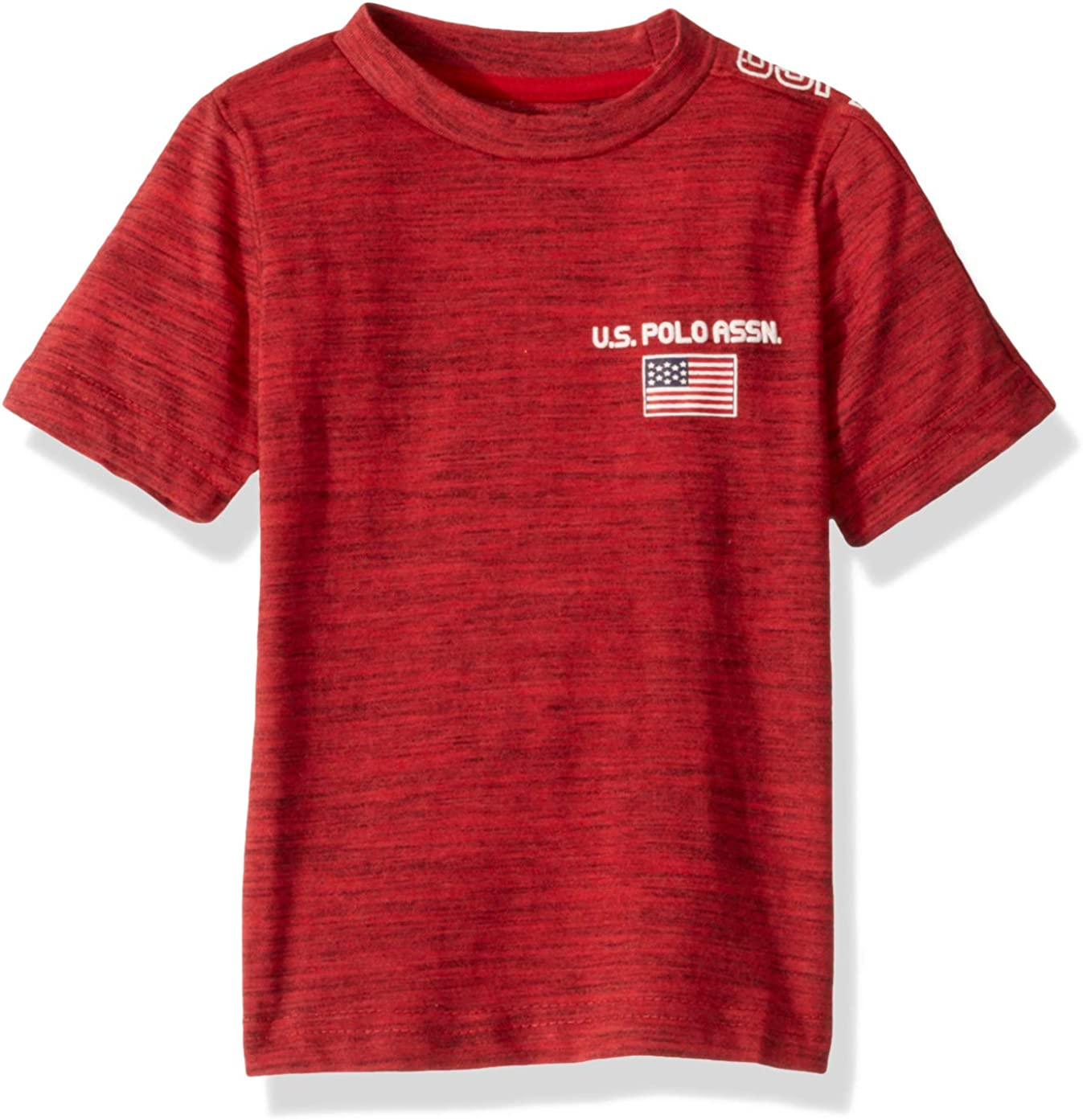 U.S. Polo Assn. Boys' Short Sleeve Graphic Crew Neck T-Shirt