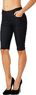 Fit Division Women's Jean Look Cotton Blend Jeggings...
