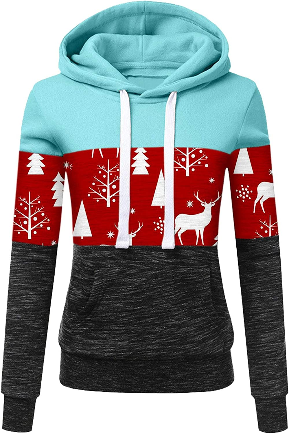 Hotkey Women's Fashion 25% OFF Christmas Special price for a limited time Hoodies Sleeve Sweatshirt Long