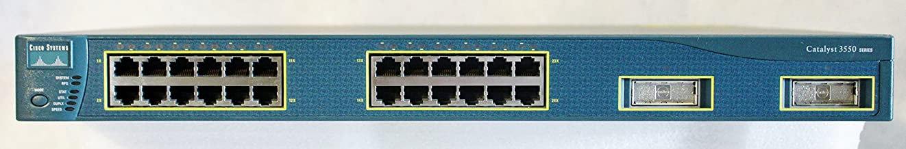 Cisco WS-C3550-24-SMI Catalyst 3550 SMI 10/100 24-Port Switch