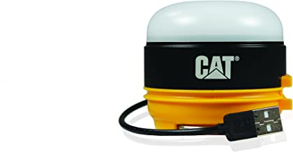 CAT CT6525 200 lm Rechargeable Micro Utility Work Light with Magnetic Base, Black/Yellow