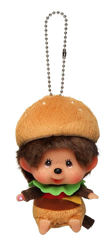 猫背出席法律によりセキグチ M's BURGER モンチッチ ハンバーガー顔でかSS キーチェーン 262632
